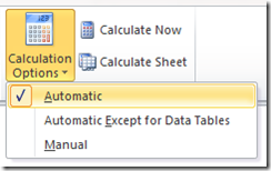 Excel formulas not auto calculating but F9 still works #in (1/2)