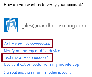 Office365 Two Factor Authentication (Preview) (Phone Factor) #O365