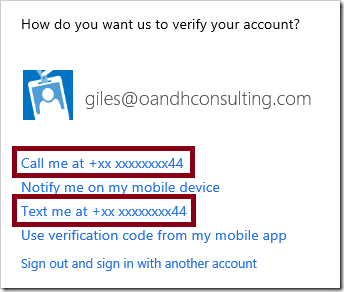 Two Factor Authentication | SharePoint (and Project Server